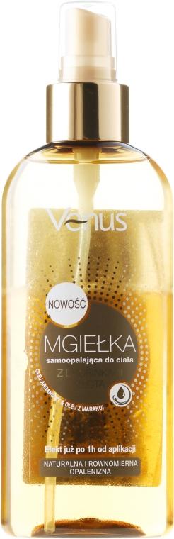 Спрей для тела с частицами золота и аргановым маслом - Venus