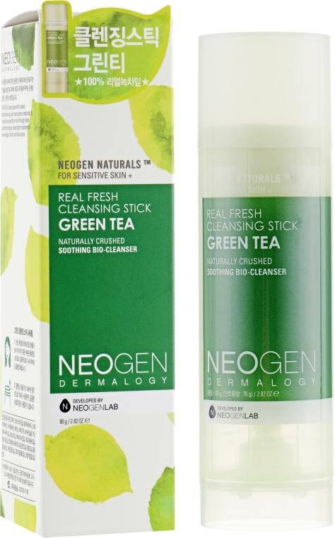 Очищающий стик для лица с зелёным чаем - Neogen Dermalogy Real Fresh Cleansing Stick Green Tea