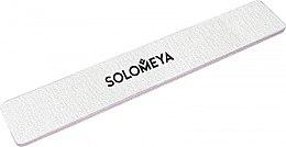 Духи, Парфюмерия, косметика Широкая профессиональная пилка для обработки больших поверхностей 100/180 - Solomeya Wide Nail File