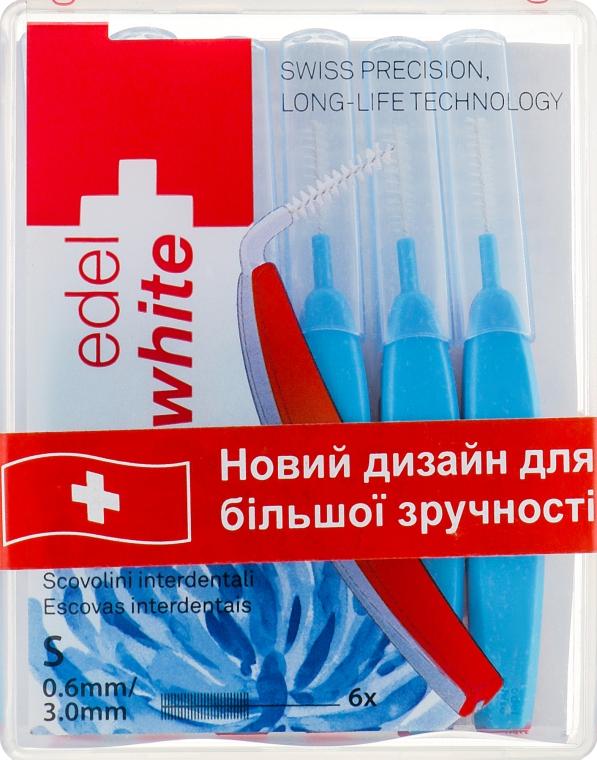 """Щётки """"Profi-Line"""" для межзубных промежутков S - Edel+White Dental Space Brushes S"""