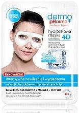 Духи, Парфюмерия, косметика Маска для кожи вокруг глаз - Dermo Pharma 4D Moisturizing & Wrinkle Reduct Hydrogel Eye Mask