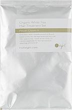 Духи, Парфюмерия, косметика Органический набор для интенсивного ухода Белый чай - O'right (cr/50ml + serum/30ml)