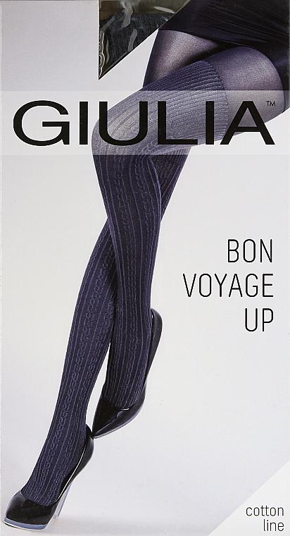 """Колготки с имитацией ботфортов """"Bon Voyage Up Model 2"""" 200 Den, iron - Giulia"""