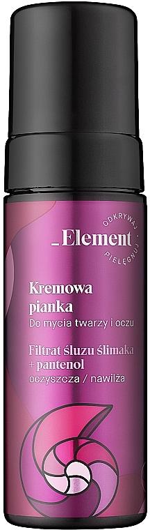 Пенка для лица - _Element Snail Slime Filtrate Creamy Foam For Face Care