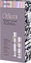 Парфумерія, косметика Набір - Estel Professional Otium Diamond (shm/250ml + balm/200ml)