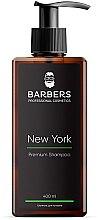 Парфумерія, косметика Тонізувальний шампунь для чоловіків - Barbers New York Premium Shampoo