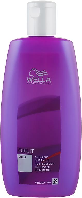 Химическая завивка для чувствительных и поврежденных волос - Wella Professionals Curl It Mild