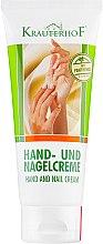 Духи, Парфюмерия, косметика Крем ежедневный для рук и ногтей с витаминами - Krauterhof Hand Cream (Туба)
