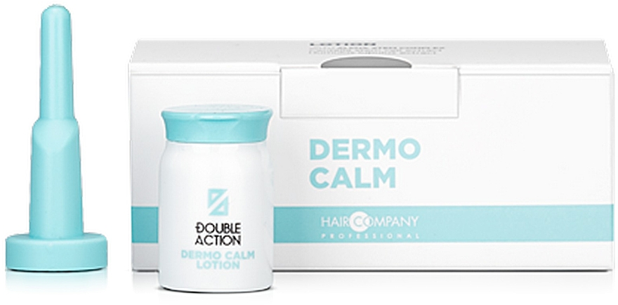 Пом'якшувальний лосьйон - Hair Company Double Action Dermo Calm Lotion — фото N1