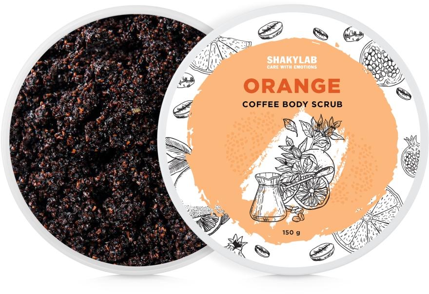 "Кофейный скраб для тела ""Orange"" - SHAKYLAB Coffee Scrub Orange"