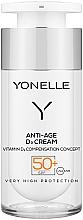 Духи, Парфюмерия, косметика Защитный крем против морщин SPF50+ - Yonelle Anti-Age D3 Cream SPF50+