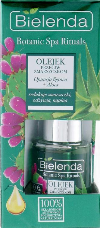 Масло для лица с алоэ - Bielenda Botanic Spa Rituals Indian Fig Opuntia+ Aloe face Oil