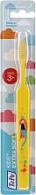 Духи, Парфюмерия, косметика Детская зубная щетка от 3 лет, желтая - TePe Kids Extra Soft