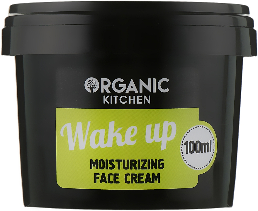 "Крем увлажняющий для лица ""Wake up"" - Organic Shop Organic Kitchen Moisturizing Face Cream"