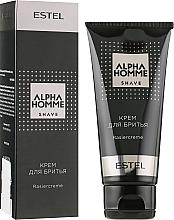 Парфумерія, косметика Крем для гоління - Estel Professional Alpha Homme Rasiercream
