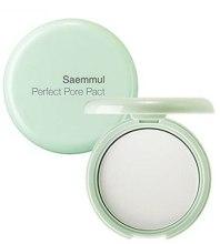 Духи, Парфюмерия, косметика Пудра компактная для кожи с расширенными порами - The Saem Saemmul Perfect Pore Pact