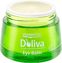 Духи, Парфюмерия, косметика Бальзам-уход для кожи вокруг глаз - D'oliva Pharmatheiss Cosmetics