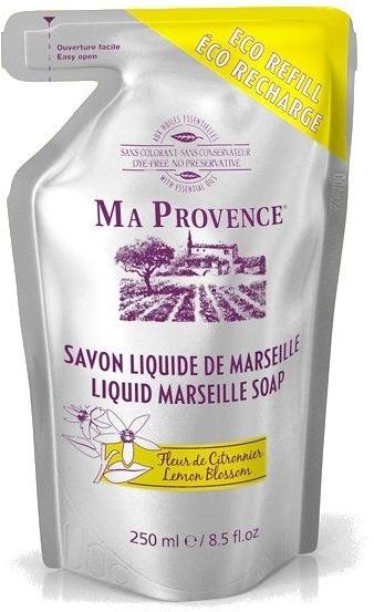 """Жидкое Марсельское мыло в экономичной упаковке """"Лимон"""" - Ma Provence Liquid Marseille Soap Lemon"""