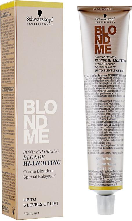 Бондинг-крем для мелирования волос - Schwarzkopf Professional Blondme Bond Enforcing Blonde Hi-Lighting