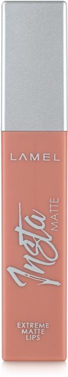 Жидкая матовая помада для губ - Lamel Professional Insta Matte Liquid Lipstick