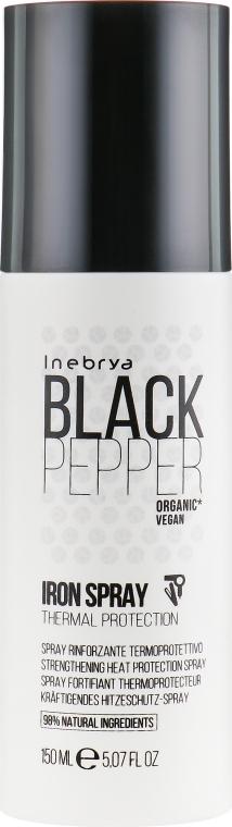 Термозащитный спрей для волос - Inebrya Balck Pepper Iron Spray