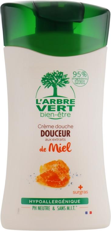 "Крем-гель для душа ""Медовый"" - L'Arbre Vert Cream Shower Gel"