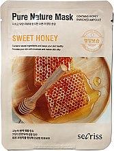 """Духи, Парфюмерия, косметика Тканевая маска для лица """"Мед"""" - Secriss Pure Nature Sweet Honey Mask"""