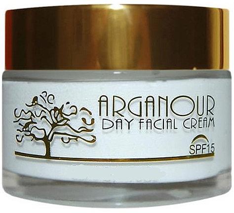 Дневной крем для лица - Arganour Anti Age Facial Cream Spf15