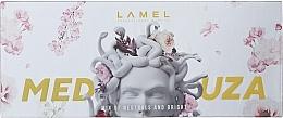 Духи, Парфюмерия, косметика Набор теней для век - Lamel Professional Meduza Mix Of Neutrals And Bright