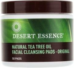Духи, Парфюмерия, косметика Ватные диски для очищения лица - Desert Essence Facial Cleansing Pads