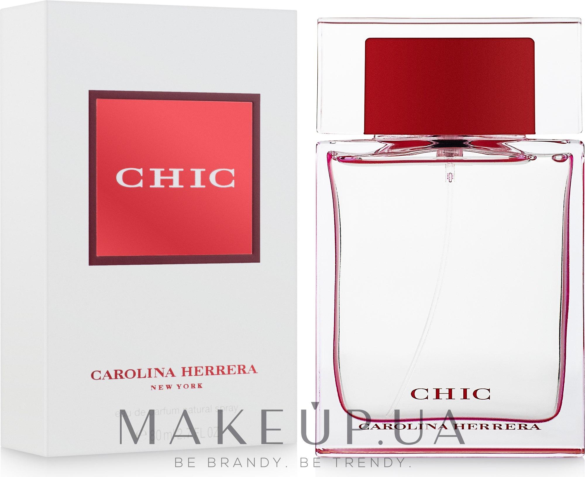 Carolina Herrera Chic - Парфюмированная вода — фото 80ml