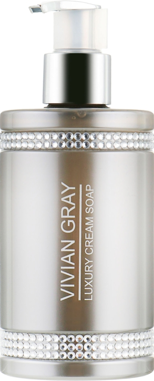 Жидкое крем-мыло - Vivian Gray Grey Crystals Luxury Cream Soap