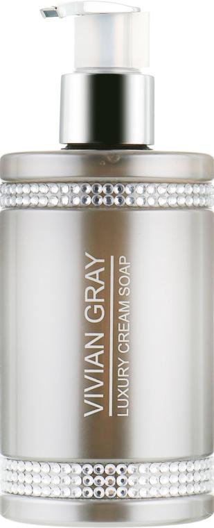 Жидкое крем-мыло - Vivian Gray Grey Crystals Luxury Cream Soap