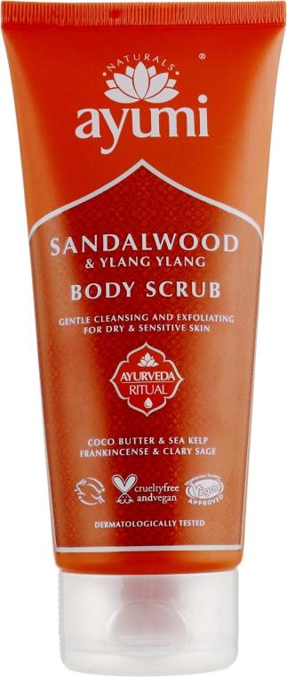Скраб для тела - Ayumi Sandalwood & Ylang Ylang Body Scrub