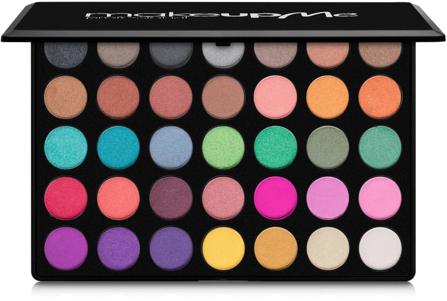 Профессиональная палитра теней 35 цветов, A35 - Make Up Me