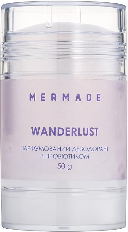 Mermade Wanderlust - Парфюмированный дезодорант с пробиотиком