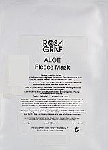 Духи, Парфюмерия, косметика Флисовая маска с алоэ - Rosa Graf Aloe Fleece Mask