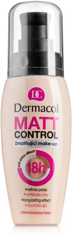 Тональный крем матирующий водостойкий - Dermacol Matt Control