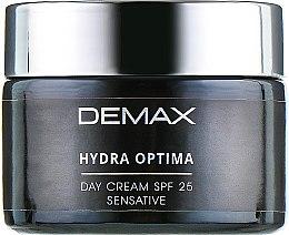 Захисно-заспокійливий крем - Demax Sensitive Protecting Day Cream SPF 25 — фото N2