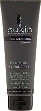 Духи, Парфюмерия, косметика Скраб для лица - Sukin Oil Balancing Plus Charcoal Pore Refining Facial Scrub