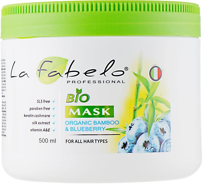 Био-маска с экстрактом бамбука и черники - La Fabelo Bio Mask