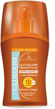 Духи, Парфюмерия, косметика Защитное масло-спрей для загара и защиты волос SPF 10 - Clinians Protective Sun Oil Body & Hair