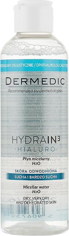 Мицеллярная жидкость - Dermedic Hydrain 3 H2O