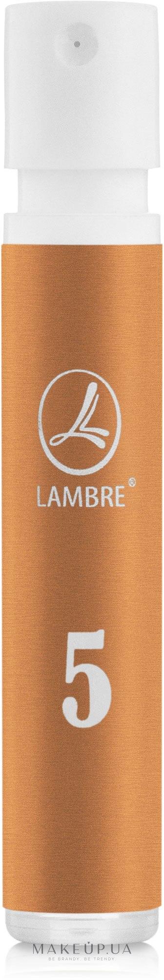 Lambre № 5 - Духи (пробник) — фото 1.2ml