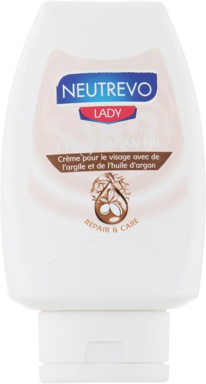 Крем для лица с глиной и маслом аргана - Neutrevo Lady Face Cream