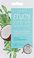 Духи, Парфюмерия, косметика Горячее масло для ухода за волосами - Marion Enjoy Coco Hot Oil Hair Treatment