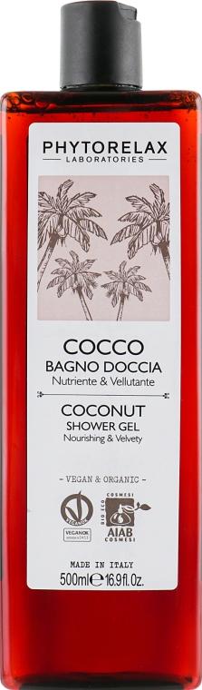 Гель для душа - Phytorelax Laboratories Coconut Shower Gel