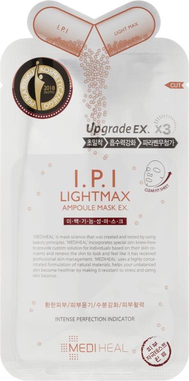 Ампульная осветляющая маска для лица - Mediheal I.P.I Lightmax Ampoule Mask Ex