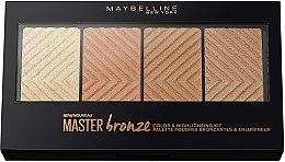 Духи, Парфюмерия, косметика Палетка для контурирования лица - Maybelline Master Bronze Color & Highlighting