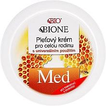 Духи, Парфюмерия, косметика Универсальный семейный крем - Bione Cosmetics Honey + Q10 Cream